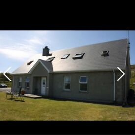 Beautiful 5 bedroomed house for sale in Malin Head co. Donegal Ireland on an elevated 0.55 acre site