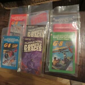 Vintage G8 and his battle aces books 1-8