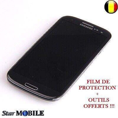 Original Samsung Galaxy S3 i9300 LCD Display Frame Digitizer Touchscreen Black