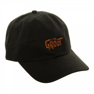 I AM GROOT Guardians of the Galaxy Dad Hat Cap Adjustable Size Marvel Comics NEW on Lookza