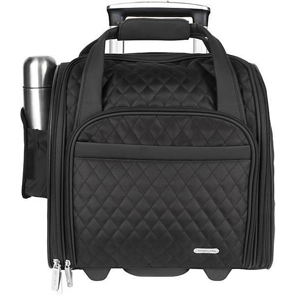 "Travelon Wheeled Underseat Carry-On Bag 14"" - #6454 - Severa"