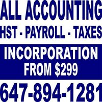 ALL ACCOUNTING, TAXES & BUSINESS CORPORATION