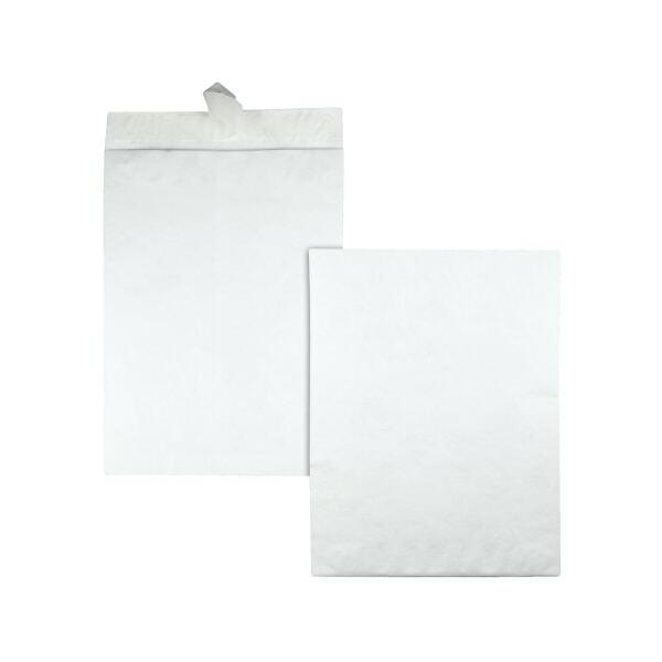 """Office Depot Brand Clean Seal Tyvek Envelopes, 10"""" x 13"""", White, Box Of 50"""