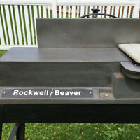 "Dégauchisseuse \ Corroyeur, Jointer -  6""  ROCKWELL / BEAVER"