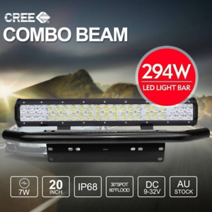 20 inch 294W CREE LED Light Bar Spot Flood Combo