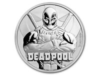 Marvel's Deadpool 1oz Silver Coin - Mint condition