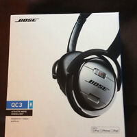 Bose QC3 Headphones