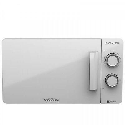 MICROONDAS CECOTEC ProClean 3020 FullWhite de 20 litros y 700 W / 2 años Garanti