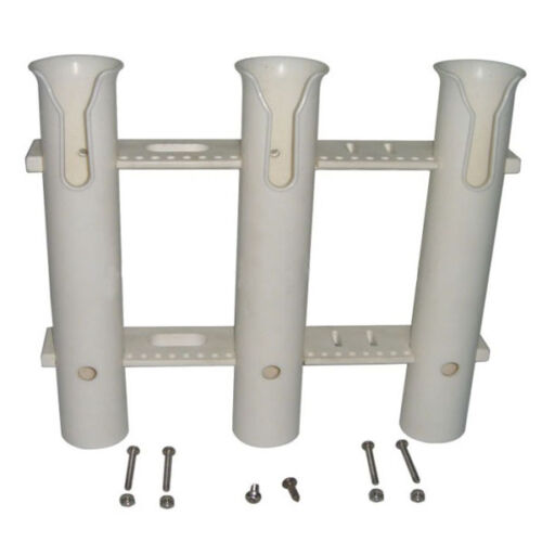White 3 Link Rod Holder Socket Plastic PP Materials Suitable For Boat Auction