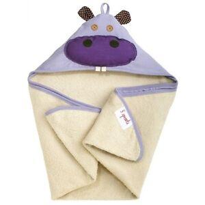 Hippo Hooded Towel