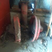 farmall narrow front end and axle casing
