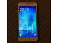 Samsung galaxy J5 UnlOCKeD mobile phone 8gb with ability to use memory card