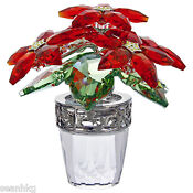 Swarovski Crystal Flower Pot