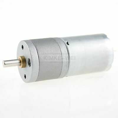 12v Dc 120rpm Powerful High Torque Gear Box Motor