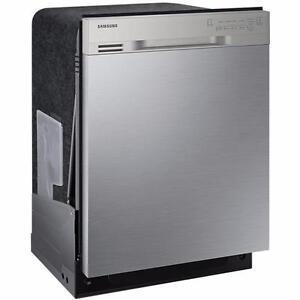 Lave Vaisselle SAMSUNG de 24 po, flexibilité maximale, cuve en acier inoxydable, en stainless (SKU : 1025)
