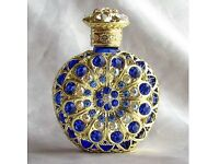 Antique style decorative perfume bottles empty Christmas birthday wedding gifts