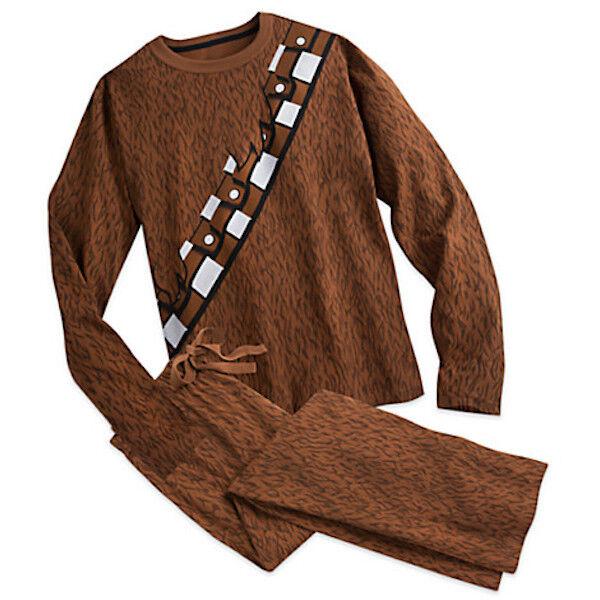 NWT DISNEY STORE Star Wars Chewbacca Boys Pajama Set PAL Set 4,5,6,7,8,10