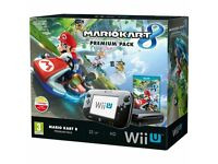 WII U premium package includes boxed Mario Kart 8 & Extra Motion sense controller