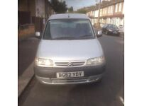 52 Plate (2003) Citroen Berlingo Multi Space Forte Van Tax & Mot £675 Ono
