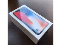 Brand New Iphone X - 256 Gb Space grey - Boxed and sealed - on O2