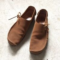 CLARKS Lugger Suede Shoes (size 11)