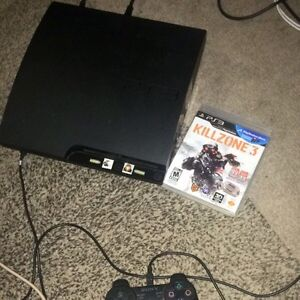 PS3 with controllers and GAMES!