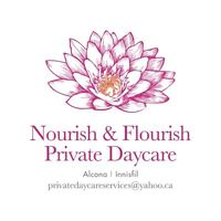 Nourish & Flourish Daycare 2 SPOTS available for SUMMER