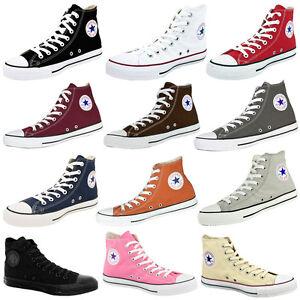 Converse-Chuck-Taylor-All-Star-Hi-Scarpe-Sneaker-Chucks-Classico-Basic