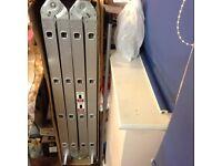 4.60 Meter Silver Aluminium Multi Purpose Foldable Combination Ladder