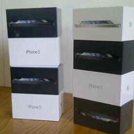 APPLE IPHONE 5 UNLOCKED BRAND NEW CONDITION BOX ACCESSORIES ALL COLOURS AVAILABLE