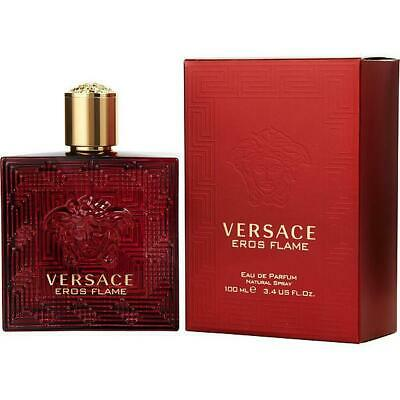 Versace Eros Flame Men 3.4oz / 100ml EDP Spray *NEW IN BOX*
