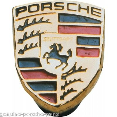 Genuine Porsche Colour Crested Metal Pin Badge - WAP10705010 - Brand New