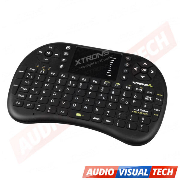 2.4G Wireless Mini Fly Air Keyboard Mouse Touchpad for Smart TV PC Laptop PS3