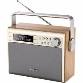 Philips dabs retro radio