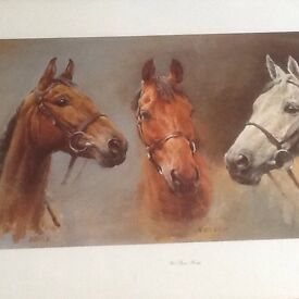 Large framed print the three kings