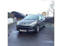 2008 Peugeot 207 *Full years MOT, Tiptronic transmission, Roof bars*