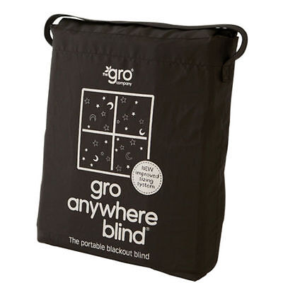 Gro Anywhere Blackout Blind - Travel Baby Windows Curtains Veil Improved Baa Baa