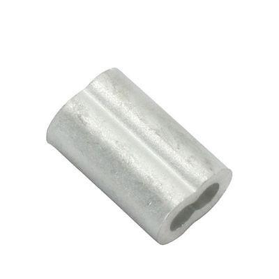 116 Aluminum Wire Rope Sleeve- 50pcs