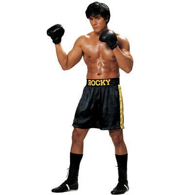 Boxing Costume Men (Adult Men's Rocky Balboa Boxing)