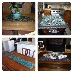 Exquisite Glass Platters & Trivets  Cambridge Kitchener Area image 3