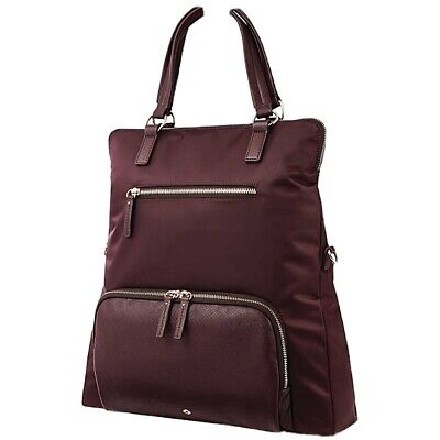 Samsonite Encompass Womens Convertible Tote Laptop Backpack, Bordeaux shade
