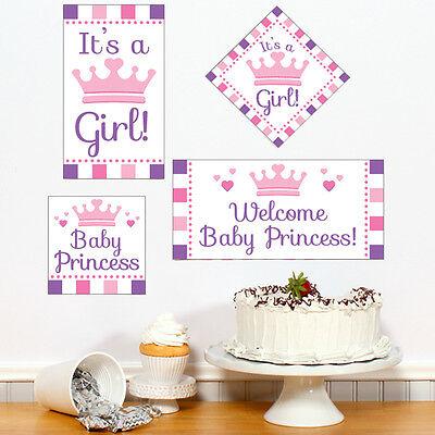 Princess Baby Shower Wall Decor; DIY Wall Cutouts; Princess Theme decor - Princess Theme Decorations