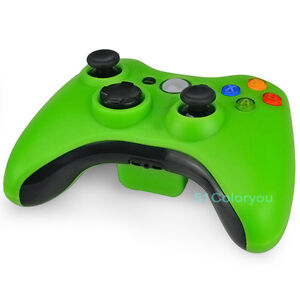 Brand New in Box Green Wireless Remote Controller for Microsoft Xbox 360 Xbox360