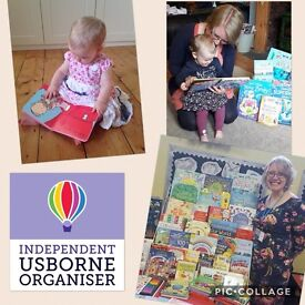 Work from home with Usborne books