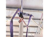 Beginner Aerial silks classes