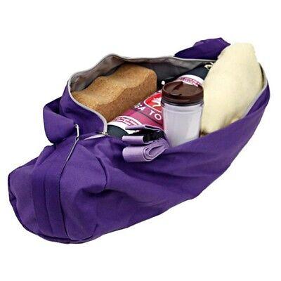 Sac de transport pour Tapis de Yoga - Violet - env. 70 x 21 cm