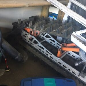 Parting out a m1000 arctic cat