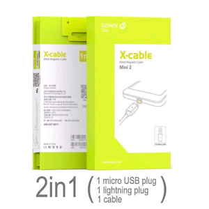2 in 1 Mini 2 Micro USB X-Cable Magnatic charger android/iPhone Bundoora Banyule Area Preview