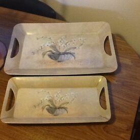 Tea trays