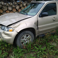 FORD  ESCAPE 2007 ROLL OVER, FWD     171253 KLMS